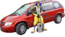 Chester The Clown And Van